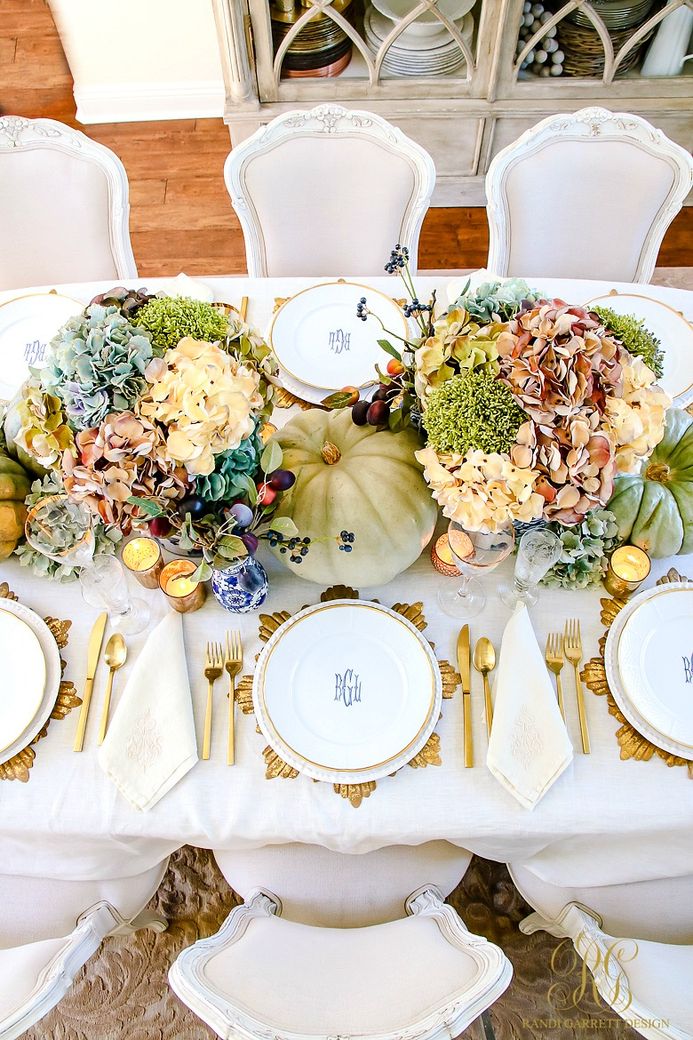 Thanksgiving Tablescape Inspo
