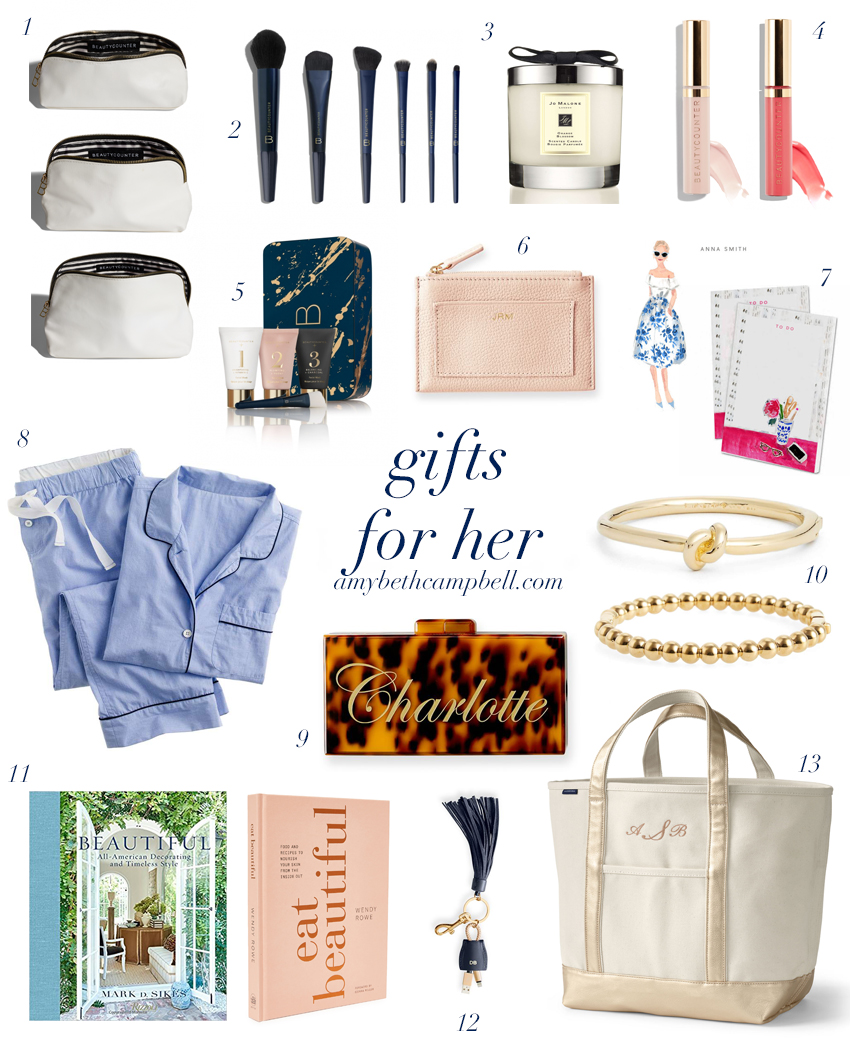 Gifts for Her 2017